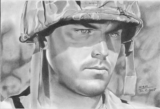 Jeffrey Hunter by peggy